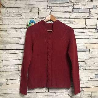 🚚 氣質紅毛衣