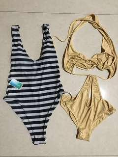 NEW SWIMSUIT muat size S/ M