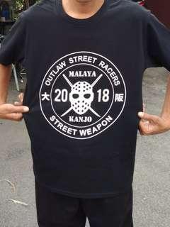 Tshirt limited malaya kanjo 2018