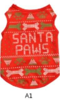 Pet Dog Christmas Clothes