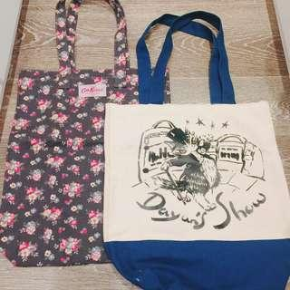 Tote Bag - Cath Kidston & Cat, set of 2 帆布袋 環保袋