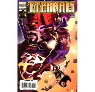 ETERNALS #1 (2008) Variant Edition. 1st Appearance of Horde!