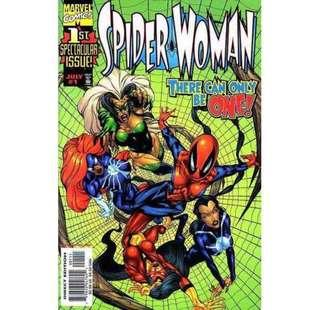 SPIDER-WOMAN #1 (1998) First Issue!
