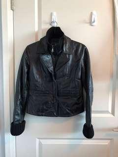 Rudsak Black Leather Ladies Jacket - XS