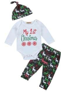 Lovely Unisex 1st Xmas outfit