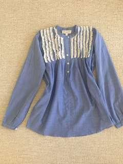 Paul & JOE cotton blouse size 0-2