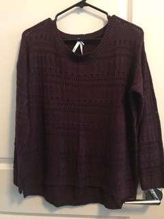 Large Ladies Light Sweater