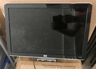HP Desktop Monitor - Model HP w1907