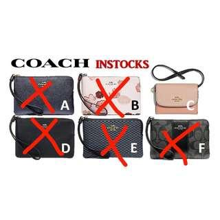 *INSTOCKS* Coach Ready Stock for Christmas