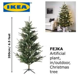 IKEA Christmas Tree 200cm (6.5ft)