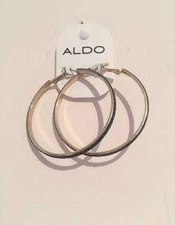 Black & Gold Shimmery earrings