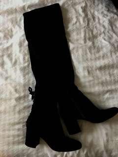 Aldo thigh high boots size 7