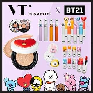 BT21 MAKE UP COLLECTION!