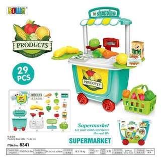 29pc Supermarket Toy Set