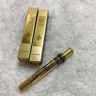 READY STOCK! [THE SAEM] GOLD SNAIL Wrinkle Plumper 2X Power (IMPORTED IN KOREA)