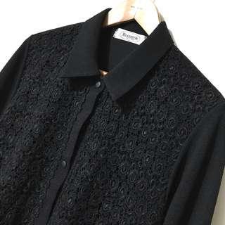 日本精品蕾絲上衣。韓國製