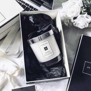 🚚 英國JO MALONE 英國梨與小蒼蘭 香氛工藝蠟燭  附原廠提袋 200g 生日禮物 情人節禮物 交換禮物 聖誕節禮物 喬遷之禮物 新婚禮物