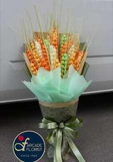 "24-Stalks Mixed Colours ""Ears Of Wheat""🌾 flower Bouquet 