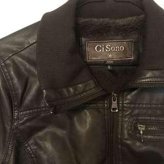 GiSono Vegan Leather Jacket