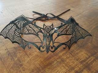 Black Mask - bat design