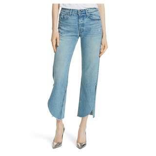 GRLFRND - Maran Wide Leg Distressed Jeans (24)