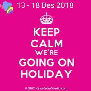 Holiday info