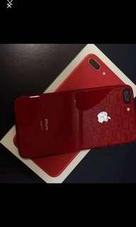 iPhone 8 plus 限量紅64g 不議價