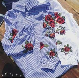 Embroidery Top #MY1212