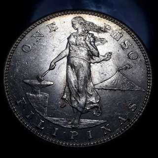 1908s Silver coin US-PHIL Uncirculated with luster