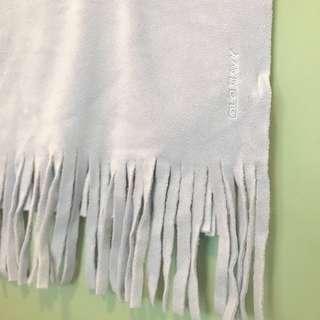 Old navy 淺藍圍巾