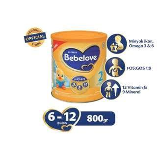 Bebelove 2 Susu Formula Bayi [800 g]