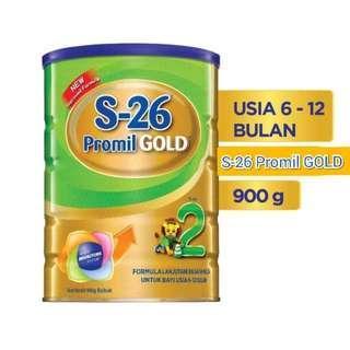 S26 Promil Gold Tahap 2 [900gr]