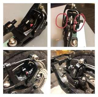 Xm 🦊. Mechanical dual port caliper
