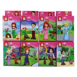Princess Block Minifigure LEGO compatible