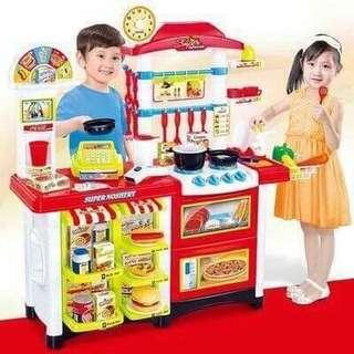 2 in 1 Kitchen Toy Set
