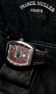 Franck Muller Red & Black Vanguard
