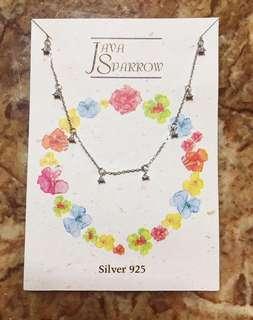 韓國進口925銀頸鍊 (Imported Korean 925 Silver Necklace)