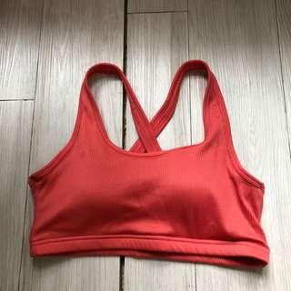 Cotton On Coral Sports Bra