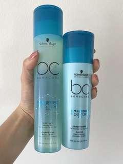 Schwarzkopf bonacure hyaluronic moisture kick shampoo and conditioner