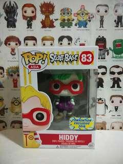 Funko Pop Hiddy Asia Convention Exclusive Secret Base Vinyl Figure Collectible Toy Gift
