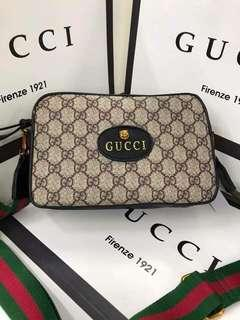 Sale! Gucci GG Canvas Sling