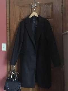BNWT ASOS BLACK COAT