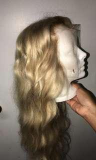 "Blonde Frontal wig 20"""