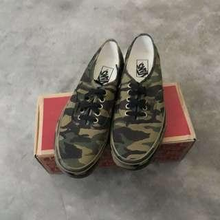 Vans Aunthentic Camo 💯 #MY1212