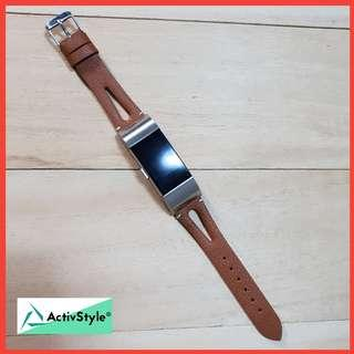 🚚 Leather Straps for Fitbit Charge 3 and Fitbit Charge 2