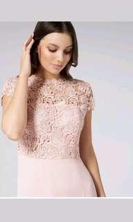 Forever New Shanae lace top maxi formal dress