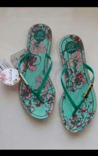 Grendha New Size 5 6 7 Green Printed