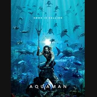 Giveaway: Ticket to Movie Screening Aquaman #Blessing