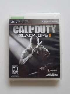 Ps3 Call of Duty Black Ops II Game