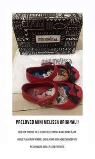 Mini Melissa Original Mickey Minnie Mouse